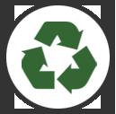 Icona recupero e riciclo